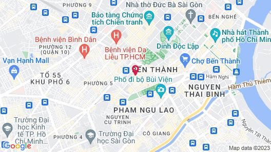 EdenStar Saigon Hotel & Spa Map