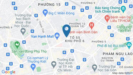 OYO 252 Sai Gon Vang Map