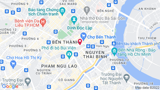 Winsuites Saigon Map