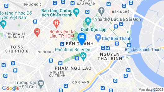 Thien Hoa Hotel Map