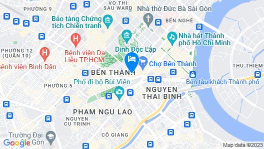 Metro Points Hotel Map