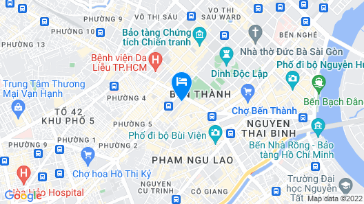 Fusion Suites Saigon Map