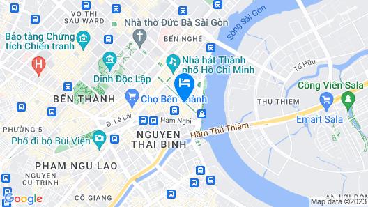 Saigon Prince Hotel Map
