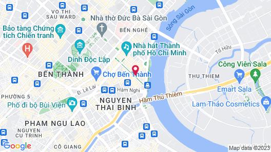 The Reverie Saigon Map