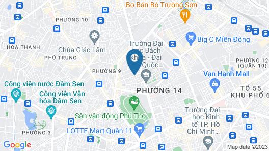 Long Son Hotel Map