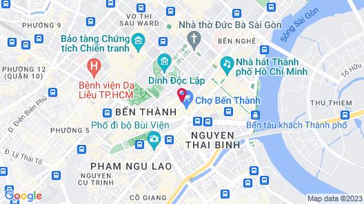 Ben Thanh Motel Map