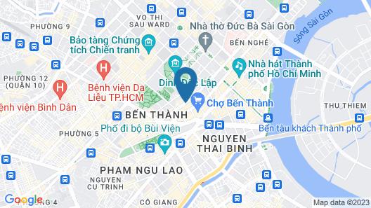 Golden Central Hotel Saigon Map