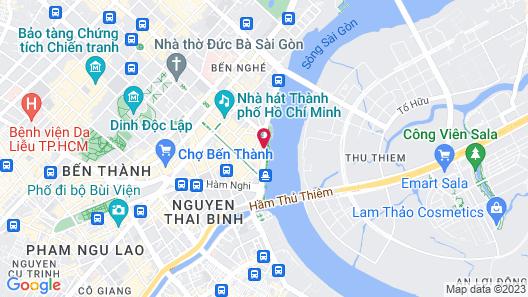Liberty Central Saigon Riverside Map