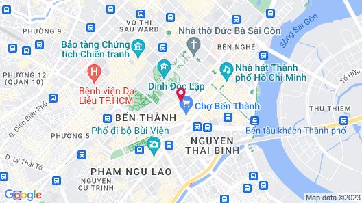 Akoya Saigon Central Hotel Map