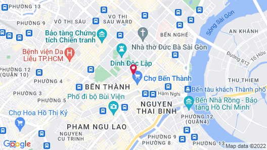 GK Central Hotel Map