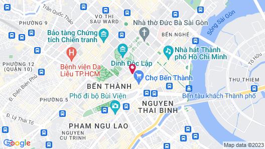Cochin Zen Hotel Map