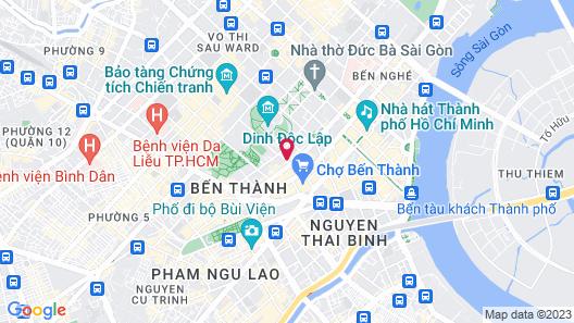Blue Diamond Hotel Map