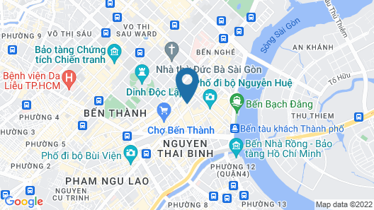 Liberty Central Saigon Citypoint Map