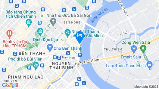 Renaissance Riverside Hotel Saigon Map