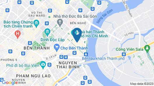 Huong Sen Hotel Map