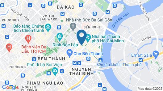 Rex Hotel Map