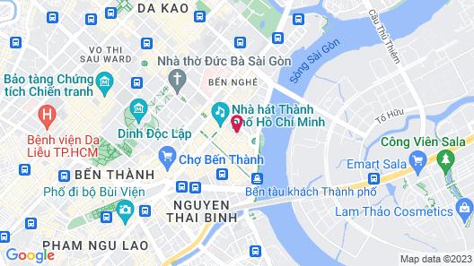 Saigon Hotel Map