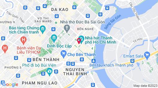 Hotel Continental Saigon Map