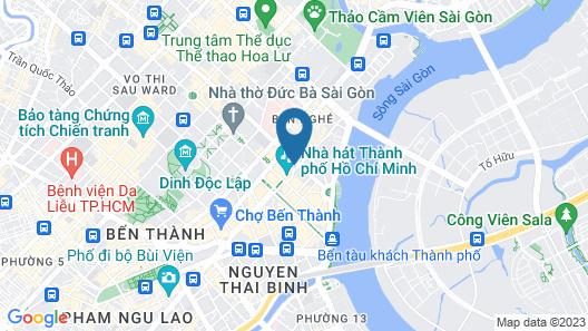 Park Hyatt Saigon Map