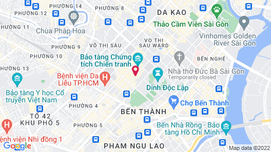 Poonsa Serviced Apartment Map