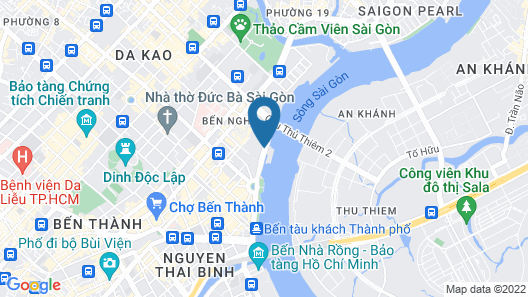 Lotte Hotel Saigon Map