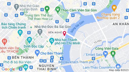 Le Meridien Saigon Map