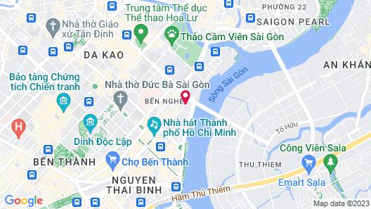 Bay Hotel Ho Chi Minh Map