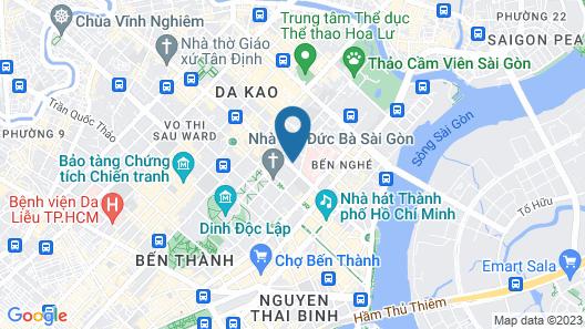 InterContinental Saigon, an IHG Hotel Map