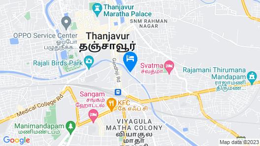 Hotel Parisutham Map