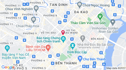 Mai House Saigon Map