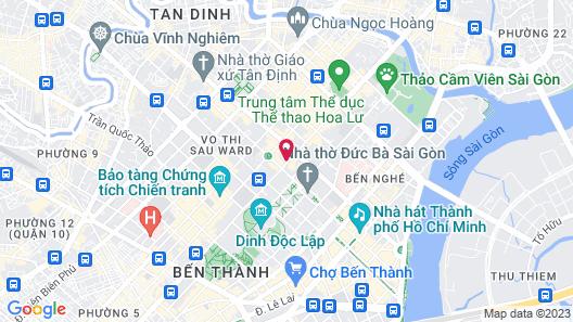 Hôtel des Arts Saigon - MGallery Collection Map