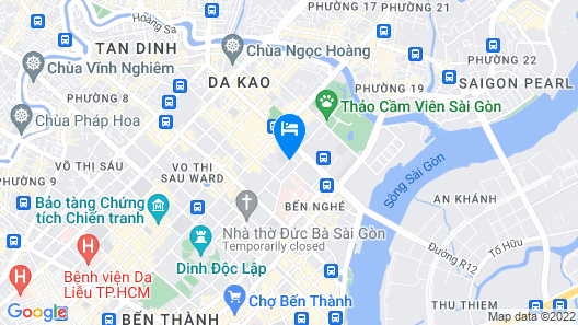 Sofitel Saigon Plaza Map
