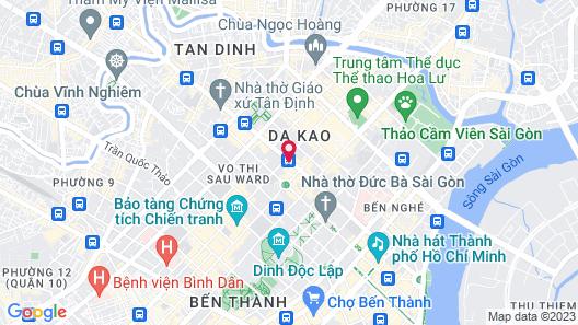 Novotel Saigon Centre Map