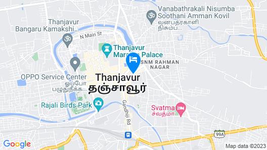 Hotel Gnanam Map
