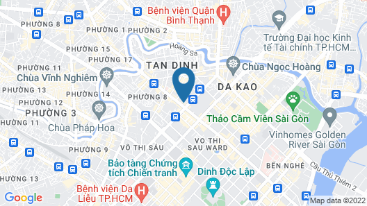 The Junction Hotel Hai Ba Trung Map