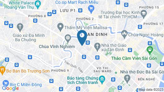 D3 Luxury Como Service Apartment NearD1 Map
