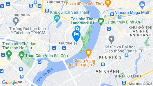 Vinpearl Luxury Landmark 81 Map