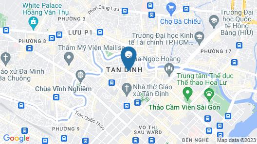 Hotel Kim Yen Map