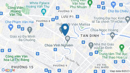 An Nhien Homestay Nguyen Van Troi Map