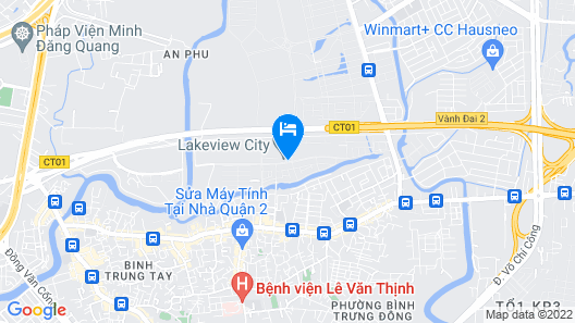 Icity Lakeview Saigon Villa Map
