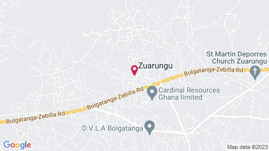 Blue Sky Hotel Map