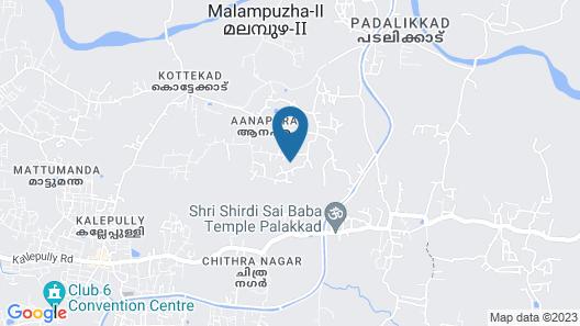 Kairali - The Ayurvedic Healing Village Map