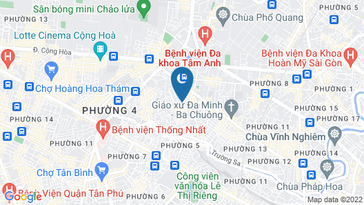 Airport Saigon Hotel Map