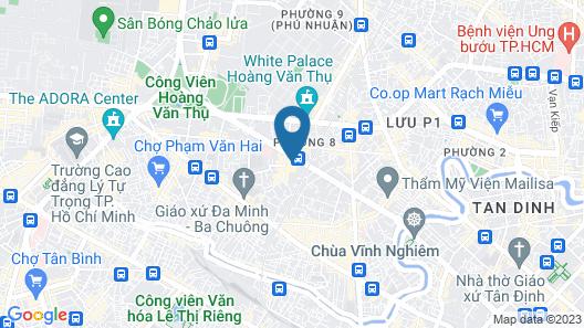 Eastin Grand Hotel Saigon Map