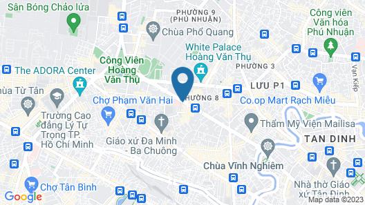 Muong Thanh Luxury Saigon Hotel Map