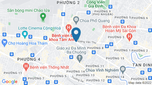 PARKROYAL Saigon Map