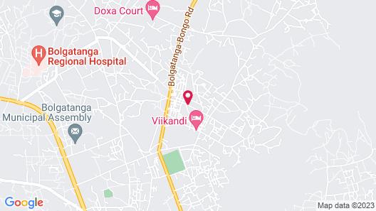 Tap Hotel Ghana Map