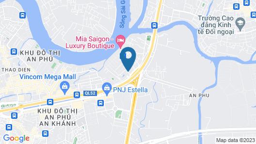 Somerset Vista Ho Chi Minh City Map