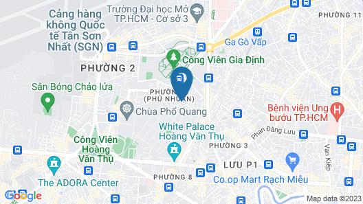 Huong Mai 2 Hotel Map