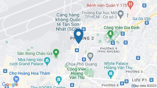AirAnC 606 - Free Airport Shuttle Map